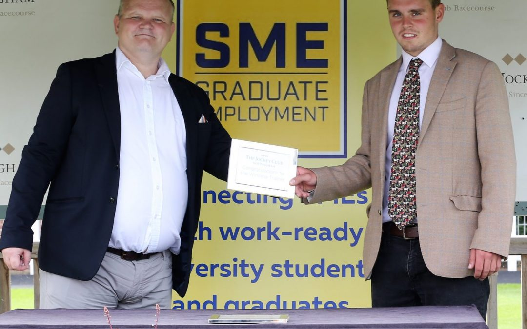 SME Graduate Employment race sponsorship at Nottingham racecourse
